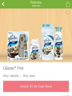 FREE Glade Pet Air Freshener a...