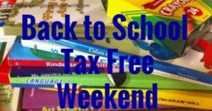 back to school tax free