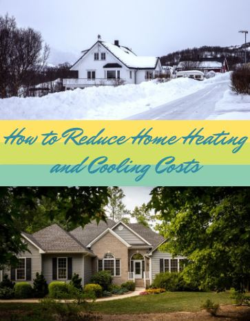 reduce home heating cooling costs