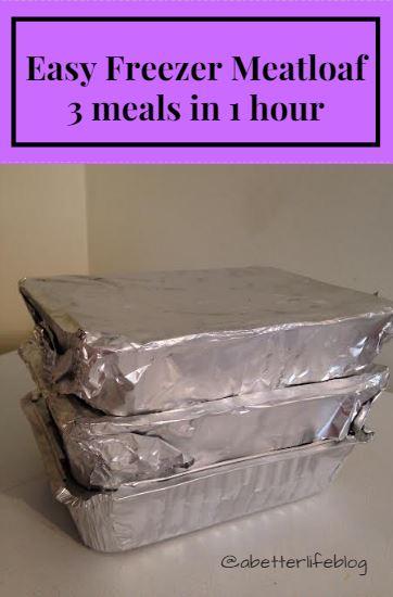 freezer meatloaf