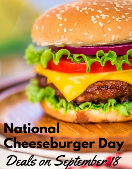 i love a good cheeseburger  national cheeseburger day is