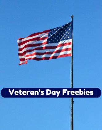 veterans day freebies 2019
