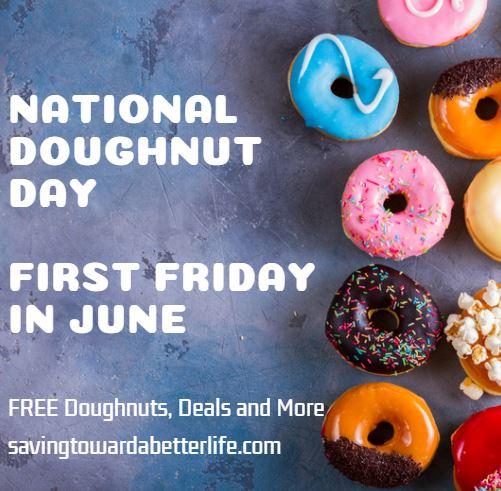 national doughnut day 2021