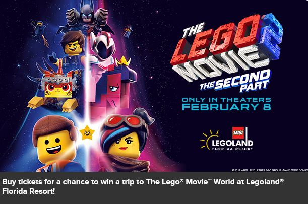 The Lego Movie 2 Ticket Deals Free Lego Builds And Special Events Saving Toward A Better Life