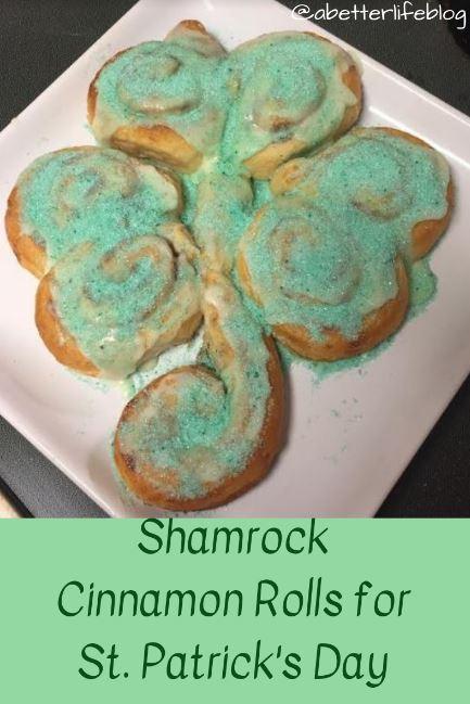 Shamrock Cinnamon Rolls