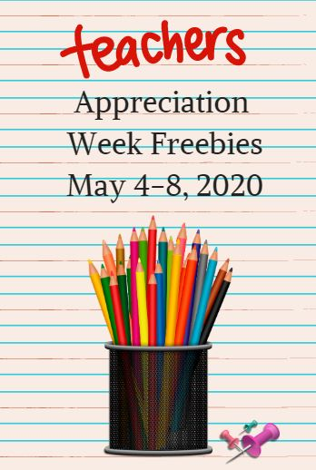 Teacher Appreciation Freebies And Discounts May 2020