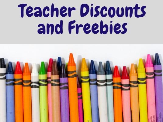 discounts for teachers