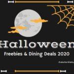 Halloween Dining Deals 2020