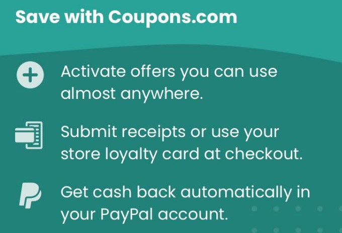 Cash Back On Groceries From The Coupons Com App Get A Free Snickers Bar