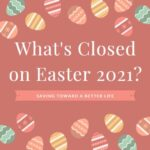 stores closed on easter 2021